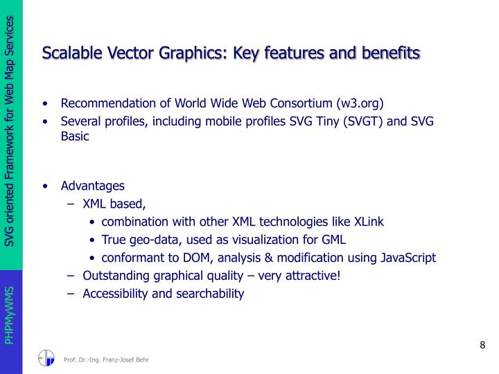 Scalable Vector Graphics: Key features and benefits