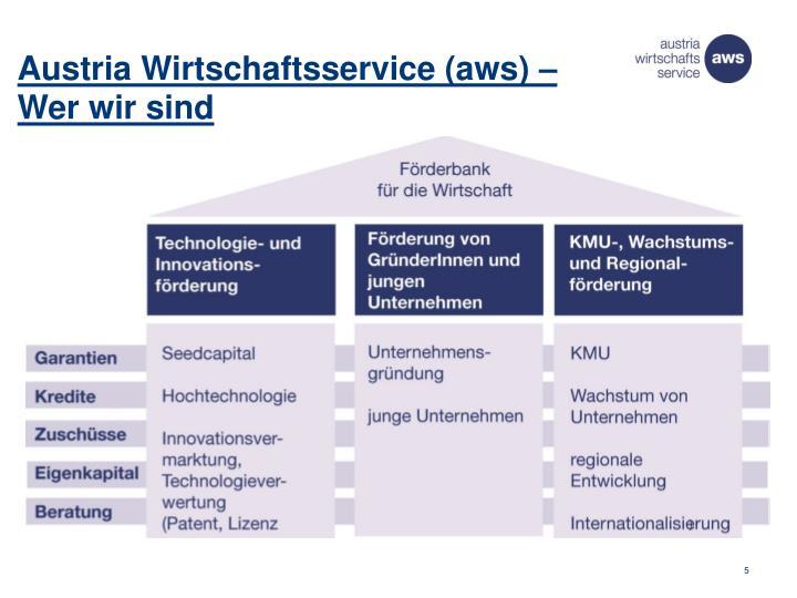 Austria Wirtschaftsservice (aws) –