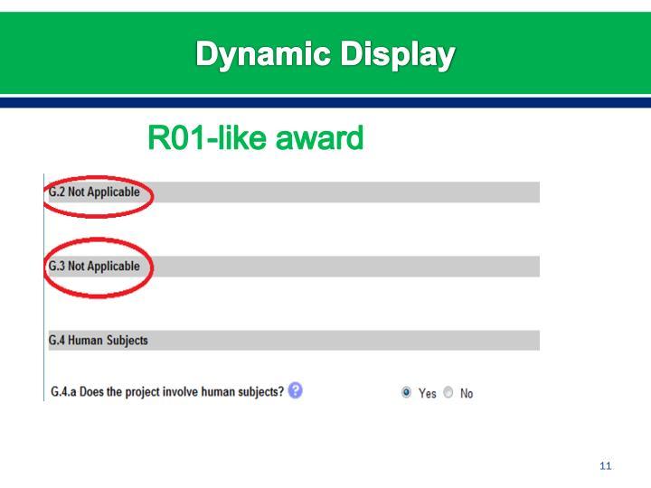 Dynamic Display