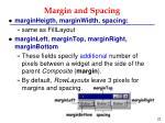 margin and spacing1