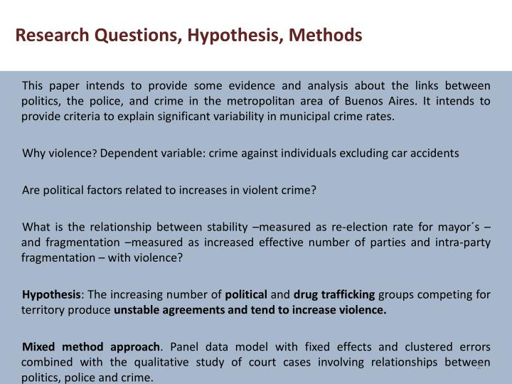 crime research questions