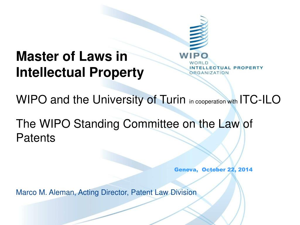 Master thesis intellectual property law