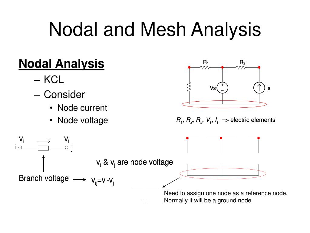 PPT - Nodal and Mesh Analysis PowerPoint Presentation - ID