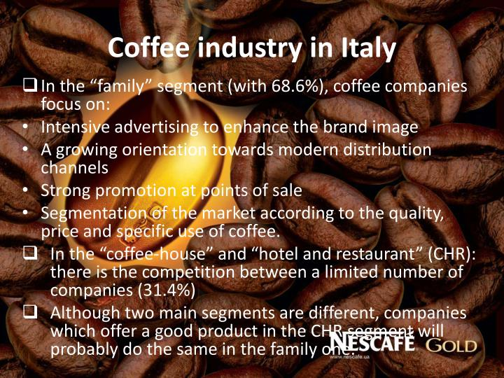 Coffee industry in Italy