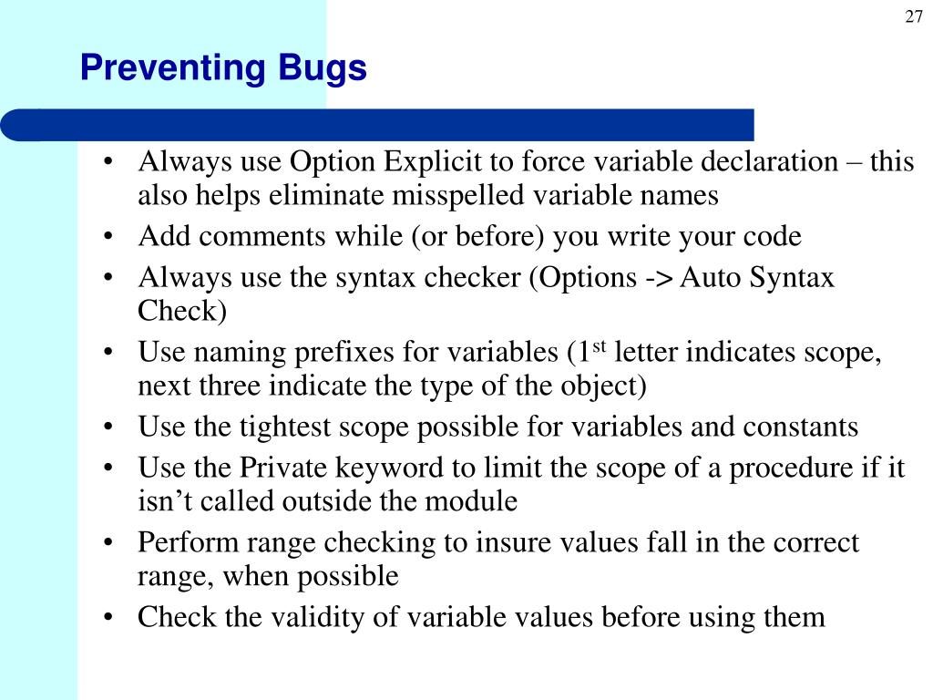 PPT - Visual Basic Programming II Lecture 2 PowerPoint