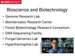bioscience and biotechnology