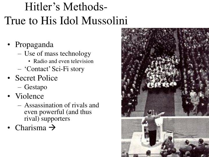 Hitler's Methods-