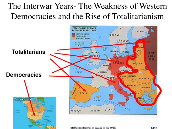 The Interwar Years- The Weakness of Western Democracies and the Rise of Totalitarianism