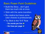basic power point guidelines1