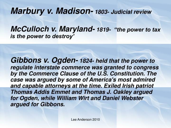 Marbury v. Madison-
