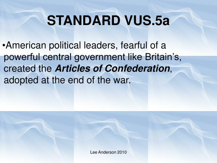 Standard vus 5a