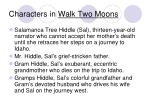 characters in walk two moons