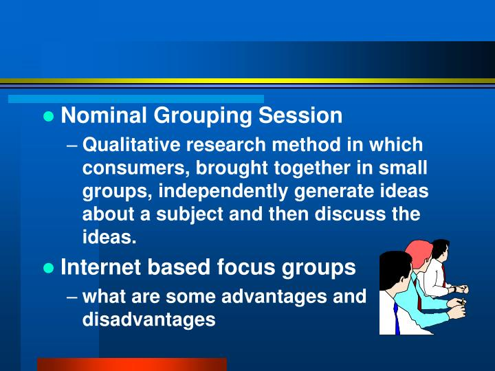 Nominal Grouping Session