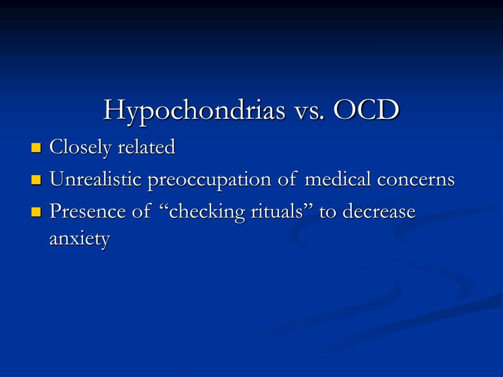 PPT - Obsessive Compulsive Disorder PowerPoint ...