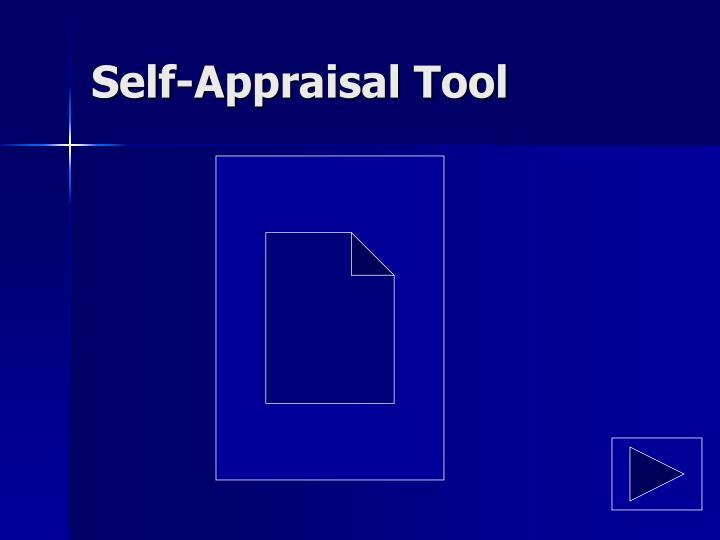 Self-Appraisal Tool