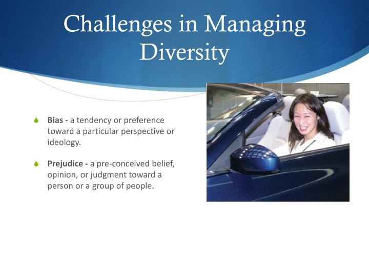 Challenges in Managing Diversity