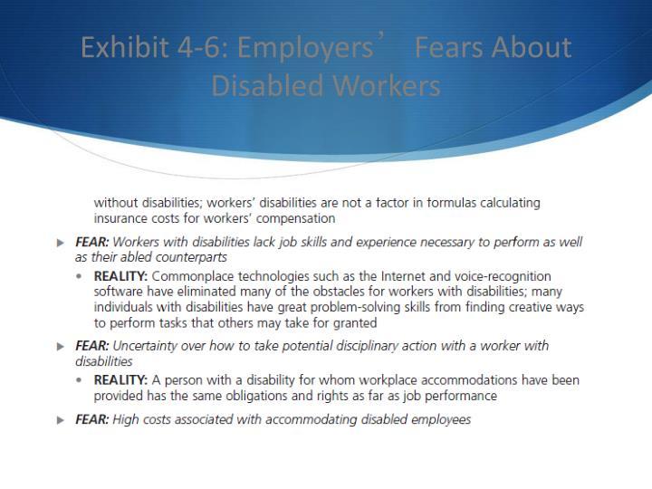 Exhibit 4-6: Employers