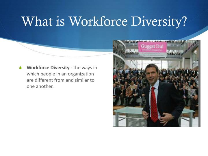 What is workforce diversity