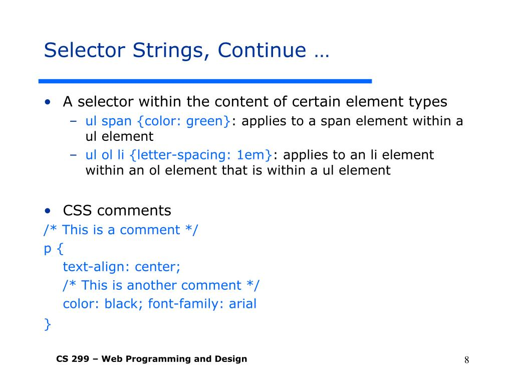 PPT - Cascading Style Sheet (CSS) Instructor: Dr  Fang