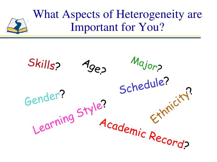 What Aspects of Heterogeneity are Important for You?