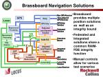 brassboard navigation solutions