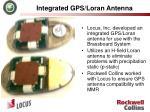 integrated gps loran antenna