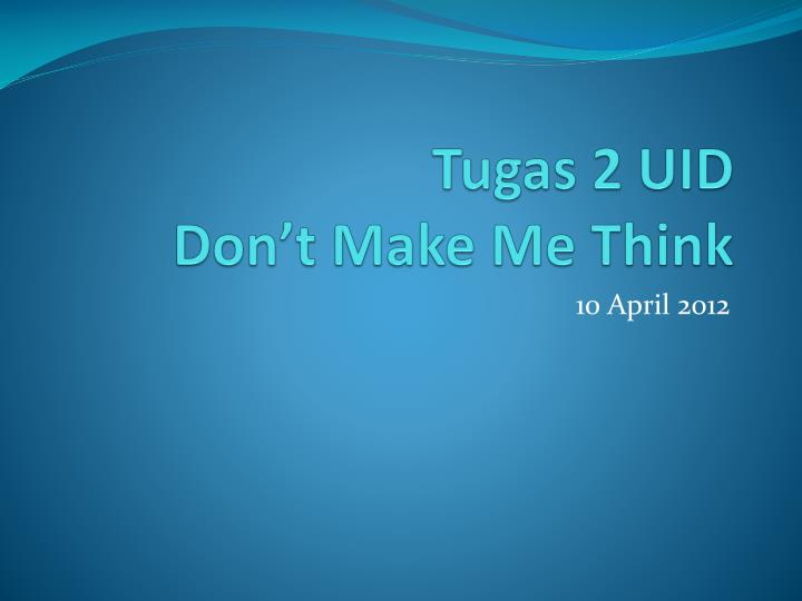 tugas 2 uid don t make me think n.