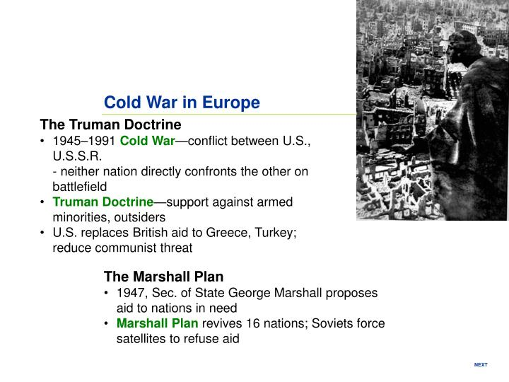 Cold War in Europe