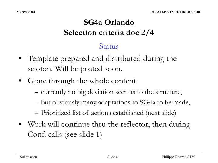 SG4a Orlando