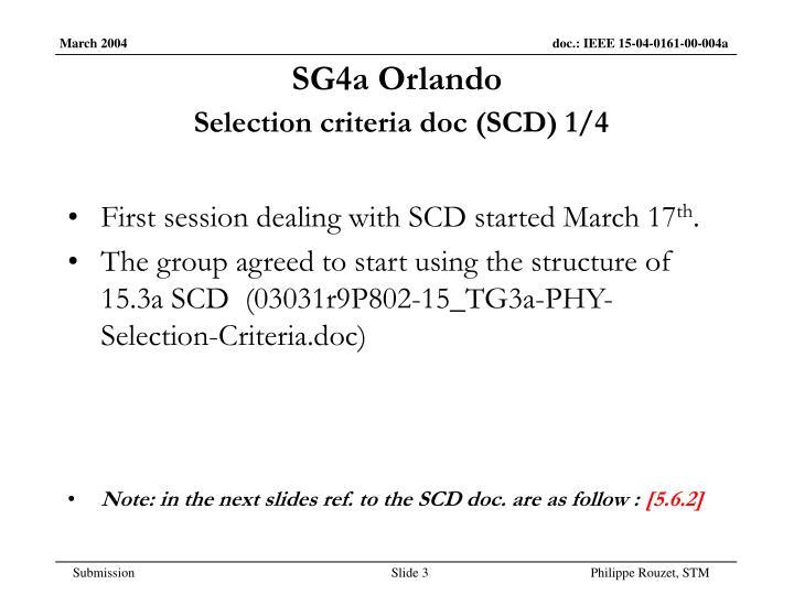 Sg4a orlando selection criteria doc scd 1 4