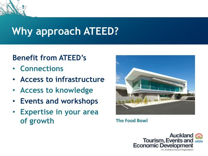 Why approach ATEED?