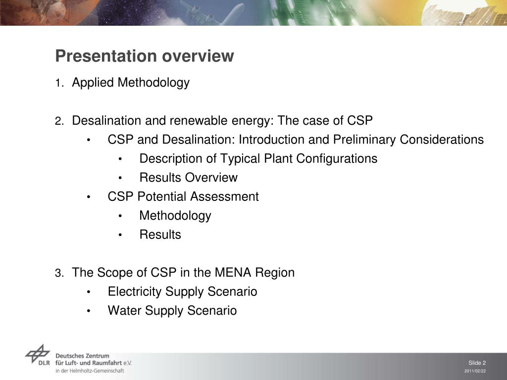 PPT - Presentation overview PowerPoint Presentation - ID:6891833