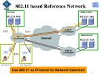 802 11 based reference network