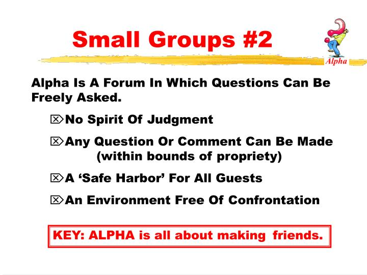 Small Groups #2