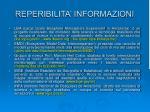 reperibilita informazioni1
