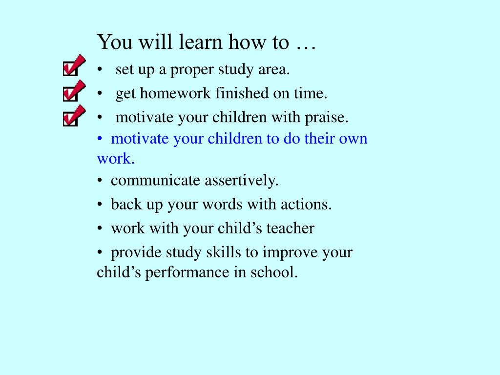 PPT - HOMEWORK TIPS PowerPoint Presentation - ID:6893013