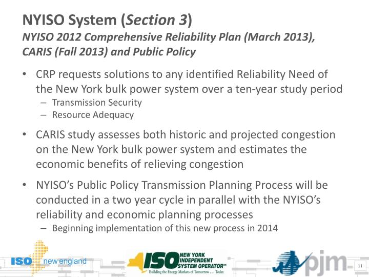 NYISO System (