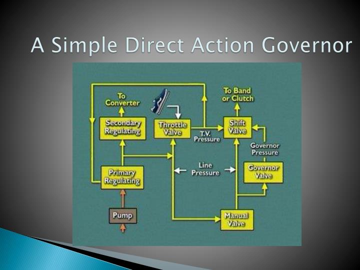 A Simple Direct Action Governor
