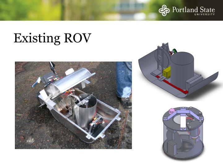 Existing ROV