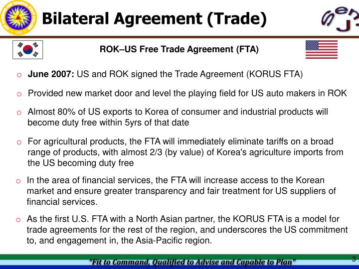 Ppt Bilateral Agreement Military Powerpoint Presentation Id