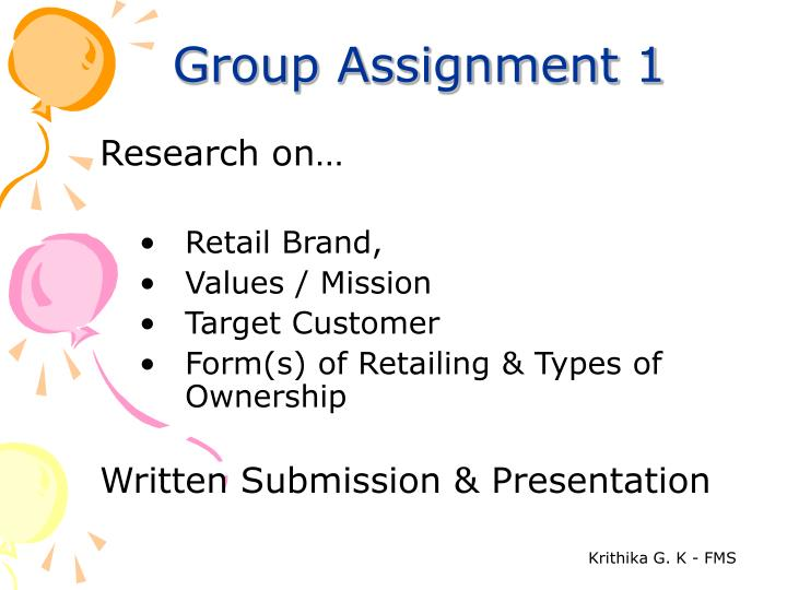 Group Assignment 1