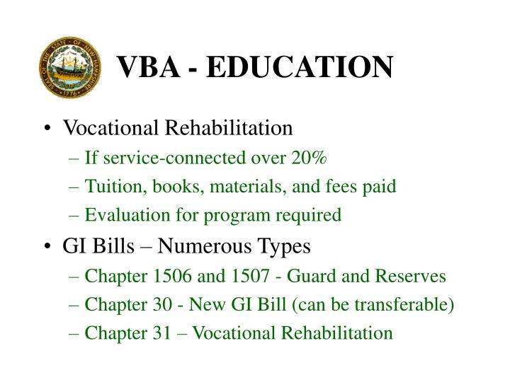 VBA - EDUCATION