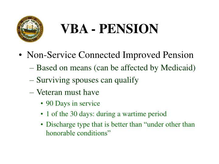 VBA - PENSION