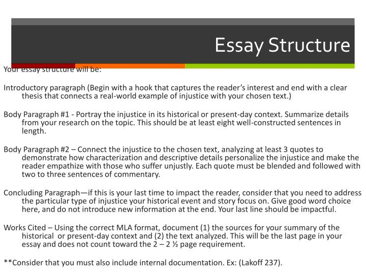 Thesis Statement For Analytical Essay Essay Structure Essay On Health Care also Custom Essay Paper Ppt  Expository Essay Injustice Powerpoint Presentation  Id Othello Essay Thesis