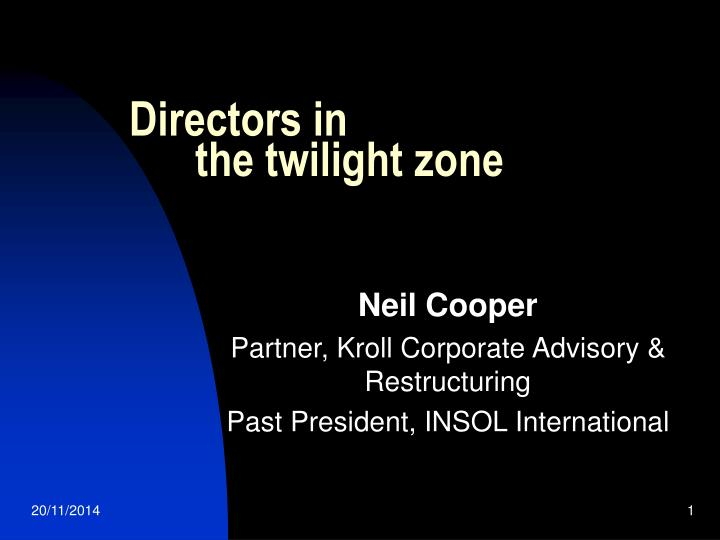 Ppt directors in the twilight zone powerpoint presentation id directors in the twilight zone toneelgroepblik Image collections