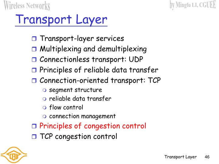 Transport-layer services