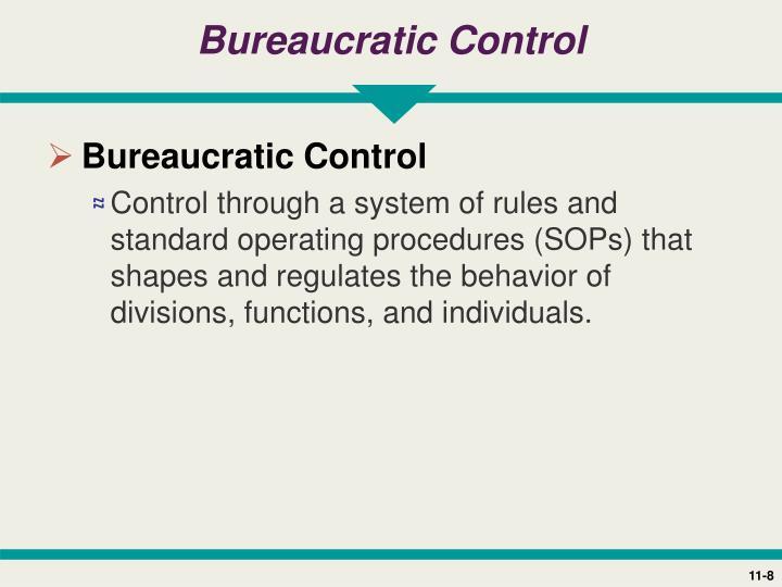 Bureaucratic Control