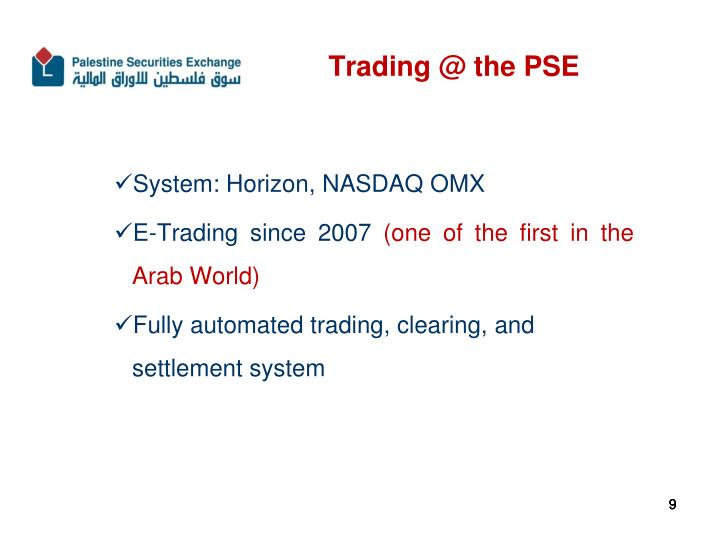 Trading @ the PSE