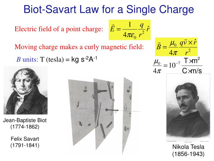 Biot-Savart Law for a Single Charge