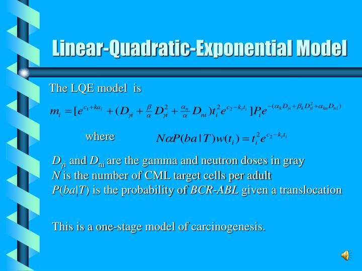 Linear-Quadratic-Exponential Model